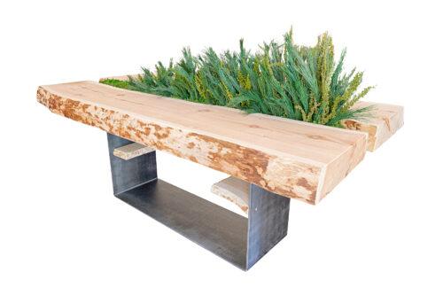 Tavolo in legno di Cirmolo ( Pino Cembro)
