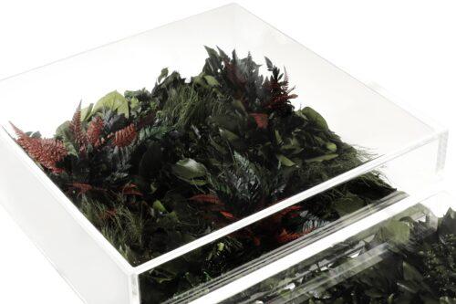 Pavimento con vegetali stabilizzati Flora Glass